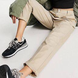 ASOS DESIGN chino trousers in stone | ASOS | ASOS (Global)