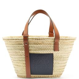 Loewe Paula's Ibiza - Anagram-logo Basket Bag - Mens - Beige | Matchesfashion (Global)