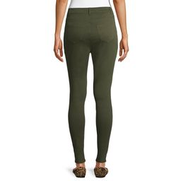 Time and Tru Women's Stretch Knit Jegging | Walmart (US)