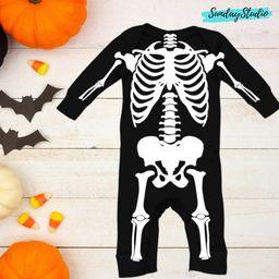 HALLOWEEN BABY COSTUME, Skeleton, Baby Boy Costume, Baby Girl Custom, Baby Halloween Ideas, Trend...   Etsy (US)