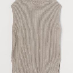 Oversized Sweater Vest   H&M (US)