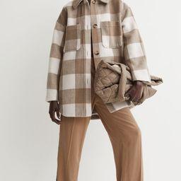 Oversized Shirt Jacket | H&M (US)