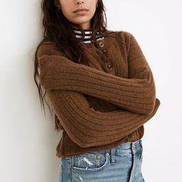Bowden Henley Sweater in Coziest Yarn | Madewell