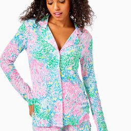 PJ Knit Button Up Top | Lilly Pulitzer