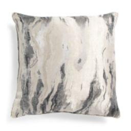 24x24 Oversized Luxury Marble Pillow | TJ Maxx
