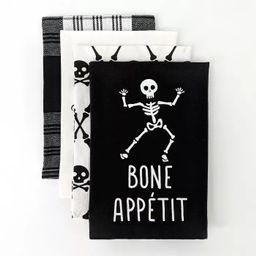 4ct Dish Towel Bone Appetit/Bewitchin' in the Kitchen - Bullseye's Playground™   Target