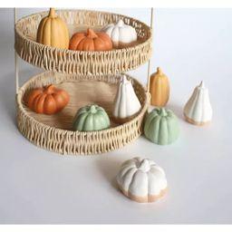 10ct Small Ceramic Pumpkins - Bullseye's Playground™   Target