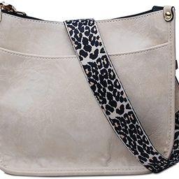 Gabigaba Small Crossbody Bags for Women - Vegan Leather Handbag Wallet Purse with Adjustable Leop...   Amazon (US)