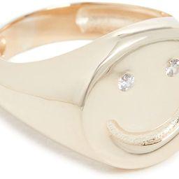 Adina's Jewels Women's Smiley Face Pinky Ring   Amazon (US)