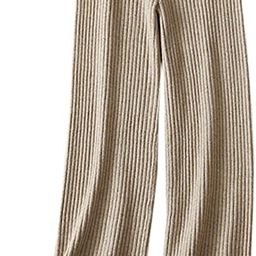SANGTREE Women's Cashmere Wide Leg Pants   Amazon (US)