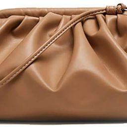 Womens Pouch Dumpling Crossbody Bag Cloud Handbag Soft Clutch Purse Shoulder Bag | Amazon (US)