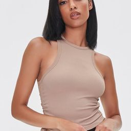 Sleeveless Ruched Drawstring Crop Top | Forever 21 (US)