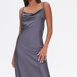Satin Cowl Slip Dress | Forever 21 (US)