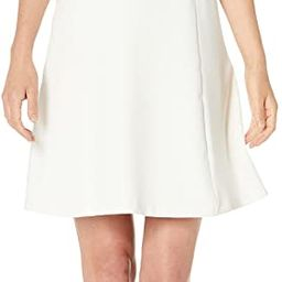 Amazon Brand - Lark & Ro Women's Sleeveless Mock Neck A-Line Dress | Amazon (US)