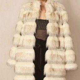 NWT Allen Schwartz Echo Faux Fur Coat Size XS~STUNNING & STYLISH!  | eBay | eBay US