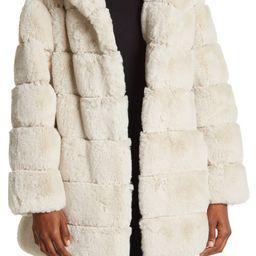 Quilted Faux Fur Hooded Coat | Nordstromrack | Nordstrom Rack