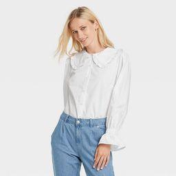 Women's Ruffle Long Sleeve Top - Who What Wear™ | Target