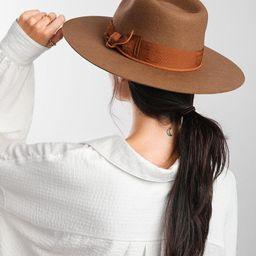 Raw Edge Panama Hat | Buckle