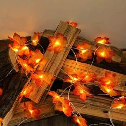 1pc Maple Leaf String Light With 20pcs Bulb | SHEIN