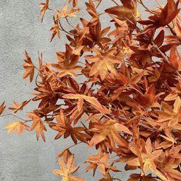 1pc Artificial Maple Leaf | SHEIN