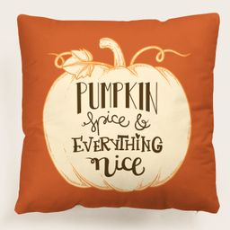Pumpkin Print Cushion Cover Without Filler | SHEIN