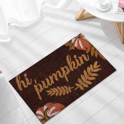 Pumpkin Print Floor Mat | SHEIN