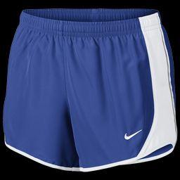 Nike Girls Nike Tempo Shorts - Girls' Grade School Game Royal/White/White Size L   Foot Locker (US)