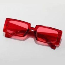 Acrylic Frame Tinted Lens Sunglasses | SHEIN