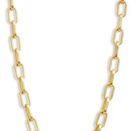 Edged Chain Necklace   Nordstrom