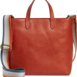 Small Transport Leather Crossbody Tote   Nordstrom