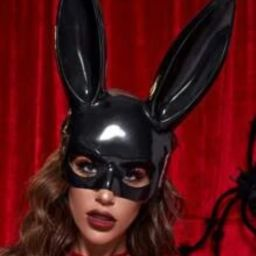 Rabbit Ear Costume Eye Shield   SHEIN