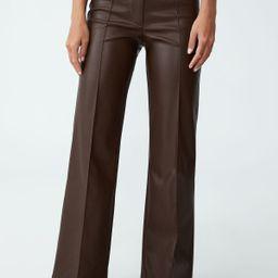 Vegan Leather Straight Pant | Cotton On (AU)