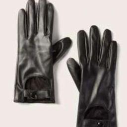 Cut Out Gloves   SHEIN