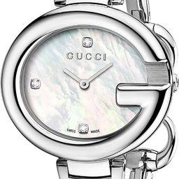 Women's Guccissima Diamond Marker Bangle Watch, 36mm | Nordstrom Rack