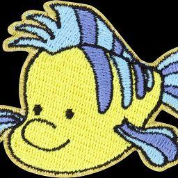 Disney Princess Flounder Patch | Stoney Clover Lane