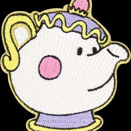 Disney Princess Mrs. Pots Patch | Stoney Clover Lane