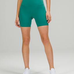 "Wunder Train High-Rise Short 6""  | Women's Shorts | lululemon | Lululemon (US)"