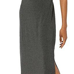 Daily Ritual Women's Jersey Standard-Fit Mock-Neck Maxi Dress | Amazon (US)