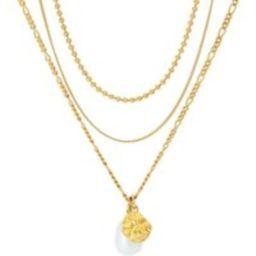 BELORO Halskette - Necklace Layering Multi Chain Pearl - in gold - für Damen | Fashionette (DE)