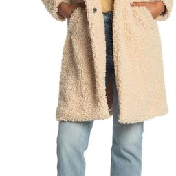 Faux Shearling Mid Jacket | Nordstrom Rack