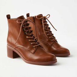 Lace Up Boots   LOFT