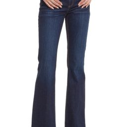 Women's Askk Ny Mid-Rise Flare Jeans, Size 25 - Blue   Nordstrom