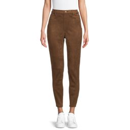 Time and Tru Women's Faux Suede Jeggings | Walmart (US)