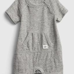 Baby Marled Shorty One-Piece   Gap (US)