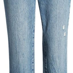 The Madison Ripped Crop Straight Leg Jeans, Bootcut Jeans, Crop Straight Leg Jeans, Fall Jeans | Nordstrom