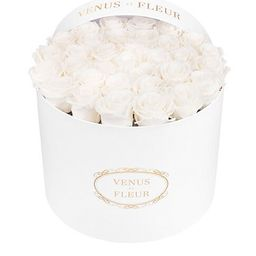 Large Round Box with Eternity Roses | Saks Fifth Avenue