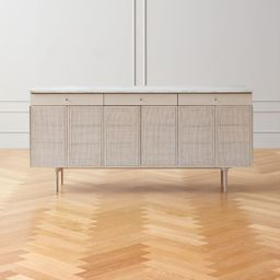 New England Wood Console Cabinet Model 7706 | CB2 | CB2
