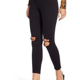 Jamie High Waist Ripped Skinny Jeans | Nordstrom