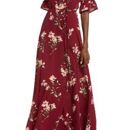 September Sunset Floral Print Dress   Nordstrom