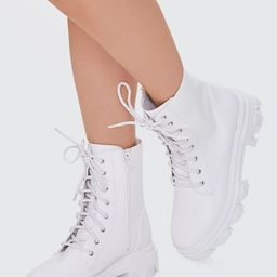 Lug-Sole Combat Boots | Forever 21 (US)